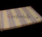 Szürke-lila-kék csíkos ortopédiai kutyafekhely (60×40)